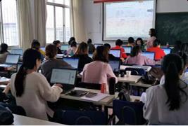 花板桥校区二教室电脑课程